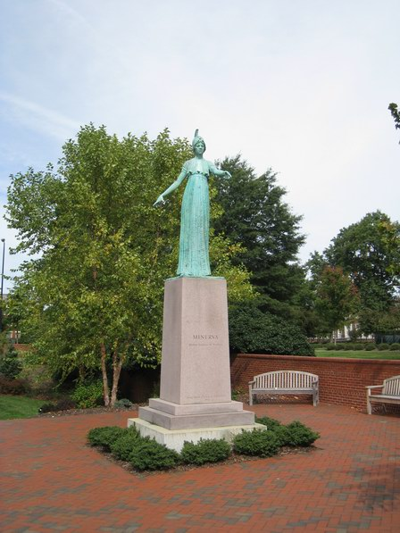 Minerva Statue at UNC Greensboro