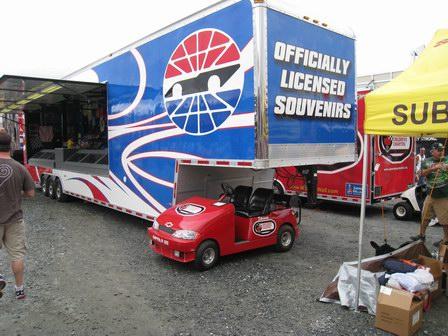 NASCAR Merchandise Trailer
