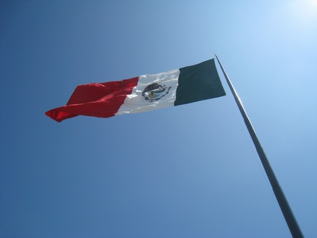 Huge Mexican Flag