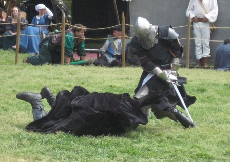 Knight's Duel in the Mock Battle 2