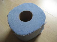 Blue Toilet Paper